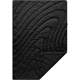 Rumpl Original Puffy Solid Couverture de survie 1 Personne, black